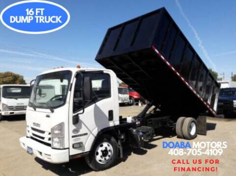 2018 Isuzu NPR-HD for sale at DOABA Motors - Dump Truck in San Jose CA