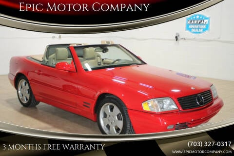 1999 Mercedes-Benz SL-Class for sale at Epic Motor Company in Chantilly VA