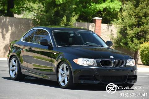 2011 BMW 1 Series for sale at Galaxy Autosport in Sacramento CA