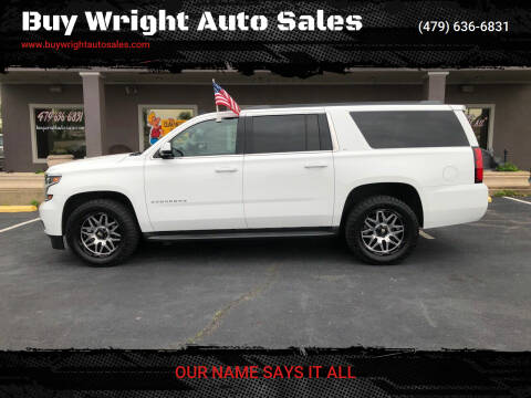 2015 Chevrolet Suburban for sale at Buy Wright Auto Sales in Rogers AR