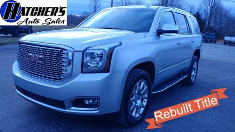 2016 GMC Yukon for sale at Hatcher's Auto Sales, LLC in Campbellsville KY