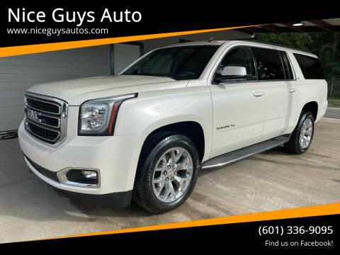 2015 GMC Yukon XL for sale at Nice Guys Auto in Hattiesburg MS