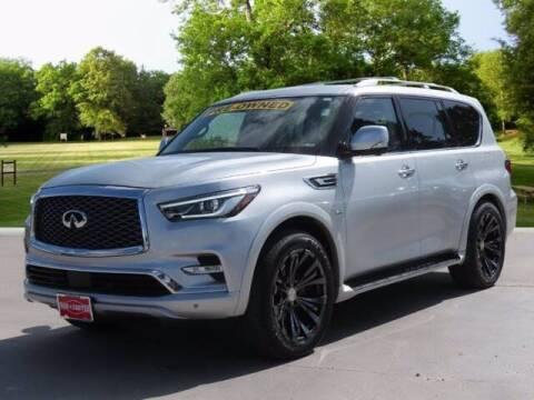 2019 Infiniti QX80 for sale at BIG STAR HYUNDAI in Houston TX