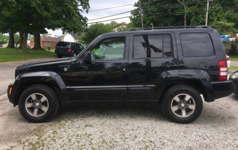 2008 Jeep Liberty for sale at Antique Motors in Plymouth IN