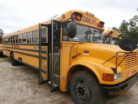 2001 International Blue Bird for sale at Interstate Bus Sales Inc. in Wallisville TX