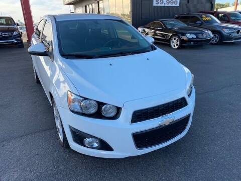 2016 Chevrolet Sonic for sale at JQ Motorsports East in Tucson AZ