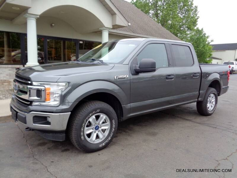 2018 Ford F-150 for sale at DEALS UNLIMITED INC in Portage MI