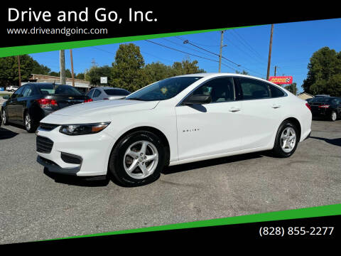 2016 Chevrolet Malibu for sale at Drive and Go, Inc. in Hickory NC