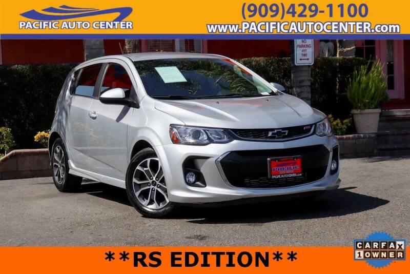 2018 Chevrolet Sonic for sale in Fontana, CA