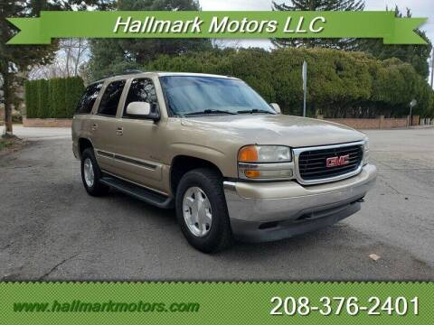 2006 GMC Yukon for sale at HALLMARK MOTORS LLC in Boise ID