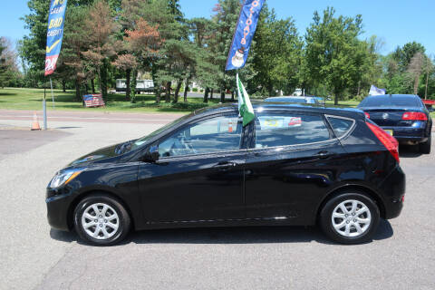 2013 Hyundai Accent for sale at GEG Automotive in Gilbertsville PA