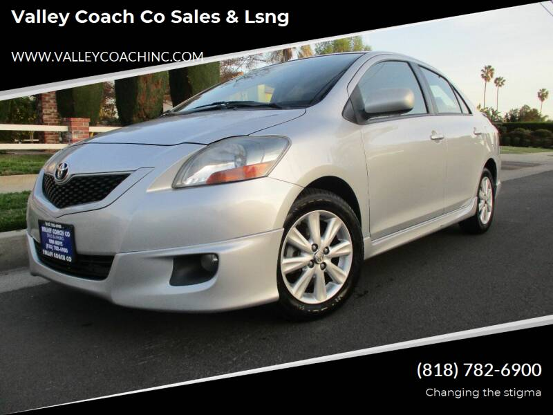 2009 Toyota Yaris for sale at Valley Coach Co Sales & Lsng in Van Nuys CA