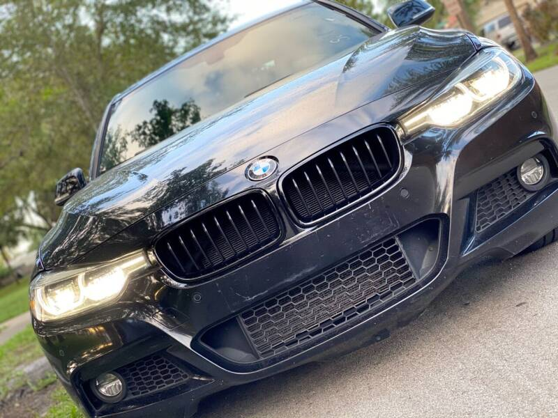 2017 BMW 3 Series for sale at HIGH PERFORMANCE MOTORS in Hollywood FL