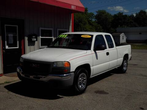 2007 GMC Sierra 1500 Classic for sale at Midwest Auto & Truck 2 LLC in Mansfield OH