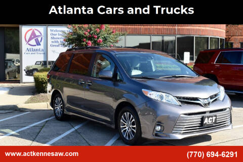 2018 Toyota Sienna for sale at Atlanta Cars and Trucks in Kennesaw GA