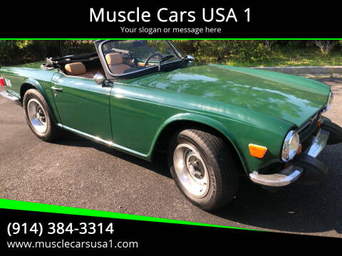 1974 Triumph TR6 for sale at Muscle Cars USA 1 in Murrells Inlet SC