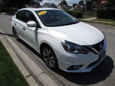 2018 Nissan Sentra for sale at First Choice Automobile in Uniondale NY