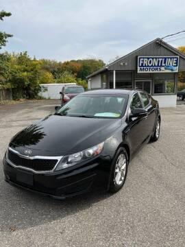 2011 Kia Optima for sale at Frontline Motors Inc in Chicopee MA