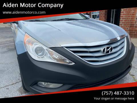 2013 Hyundai Sonata for sale at Aiden Motor Company in Portsmouth VA