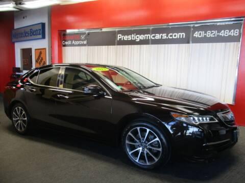 2015 Acura TLX for sale at Prestige Motorcars in Warwick RI