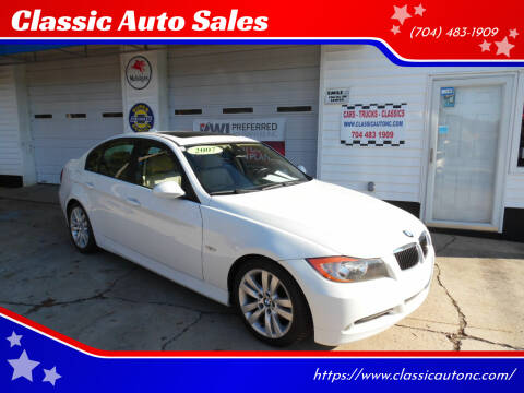 2007 BMW 3 Series for sale at Classic Auto Sales in Maiden NC