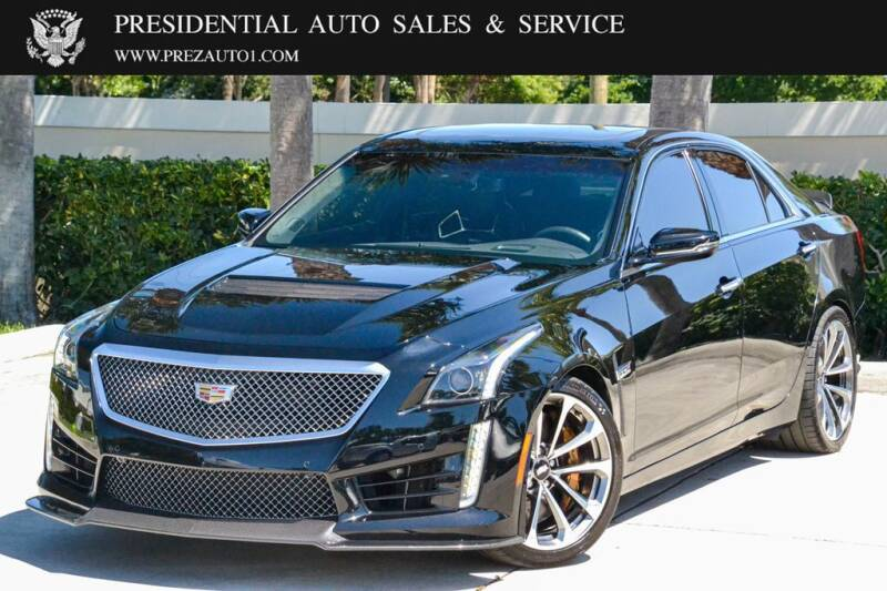 2017 Cadillac CTS-V for sale at Presidential Auto  Sales & Service in Delray Beach FL