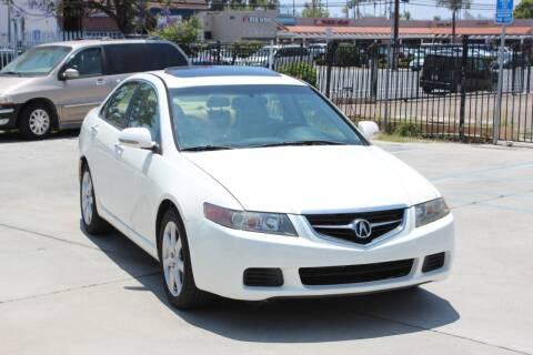 2005 Acura TSX for sale at Car 1234 inc in El Cajon CA