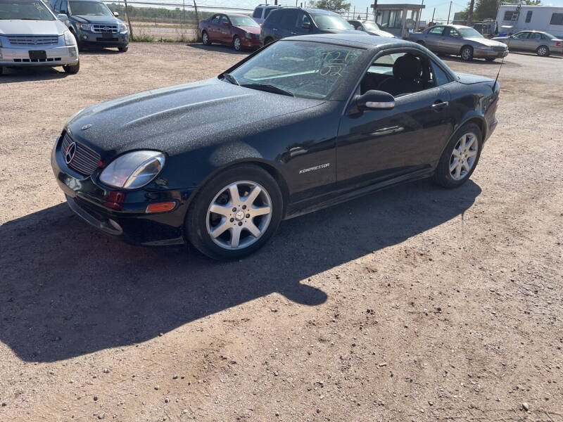 2002 Mercedes-Benz SLK for sale at PYRAMID MOTORS - Fountain Lot in Fountain CO