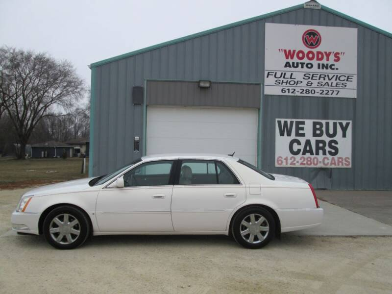 2007 Cadillac DTS for sale at Woody's Auto Sales Inc in Randolph MN