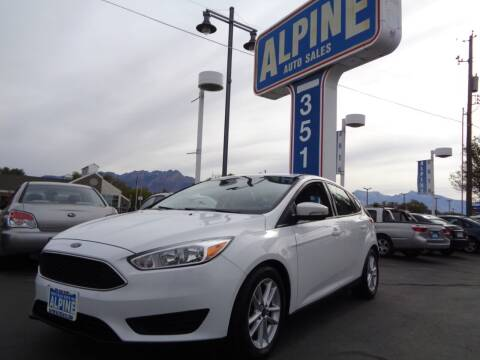 2015 Ford Focus for sale at Alpine Auto Sales in Salt Lake City UT