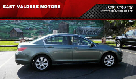 2010 Honda Accord for sale at EAST VALDESE MOTORS in Valdese NC
