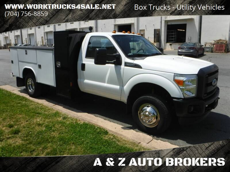 2015 Ford F-350 Super Duty for sale at A & Z AUTO BROKERS in Charlotte NC
