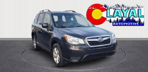 2015 Subaru Forester for sale at Layal Automotive in Englewood CO