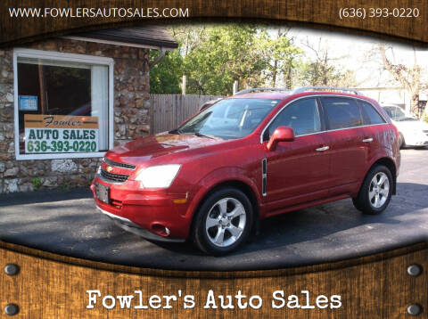 2014 Chevrolet Captiva Sport for sale at Fowler's Auto Sales in Pacific MO
