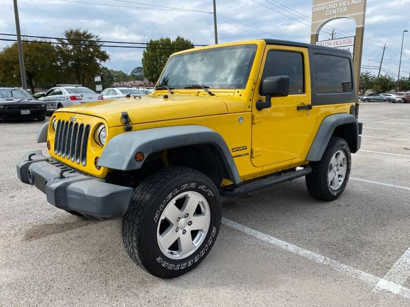 2011 Jeep Wrangler for sale at T.S. IMPORTS INC in Houston TX