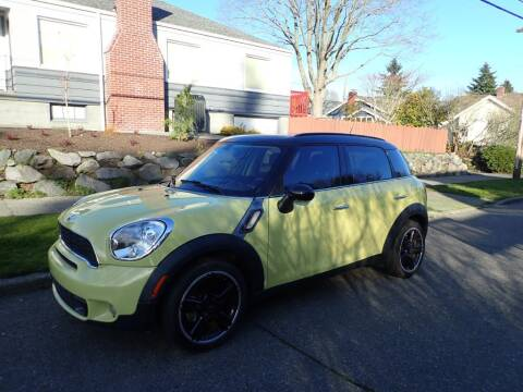 2011 MINI Cooper Countryman for sale at INTEGRITY AUTO SALES LLC in Seattle WA