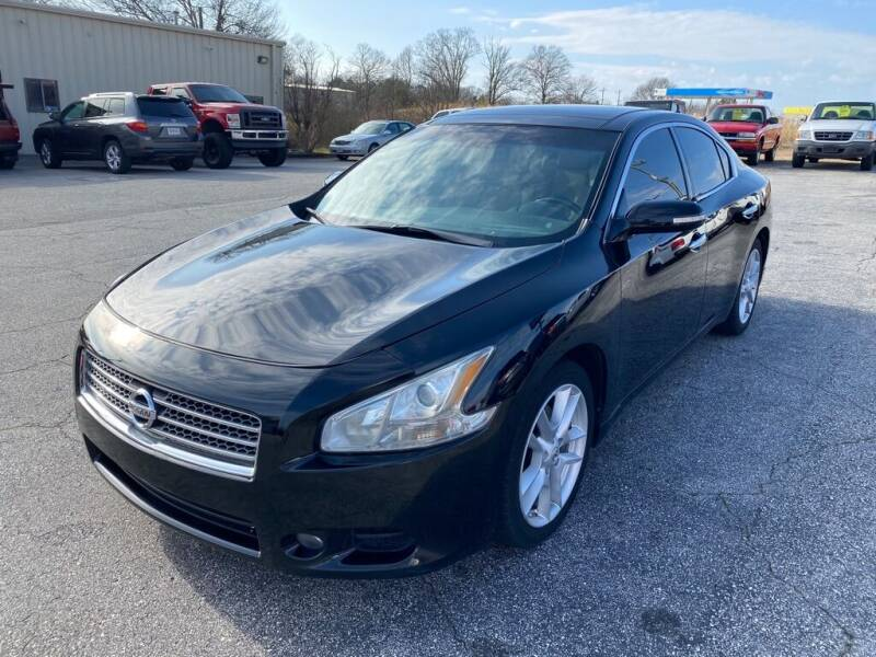 2011 Nissan Maxima for sale at Brewster Used Cars in Anderson SC