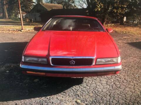 1989 Chrysler TC for sale at Barry's Auto Sales in Pottstown PA