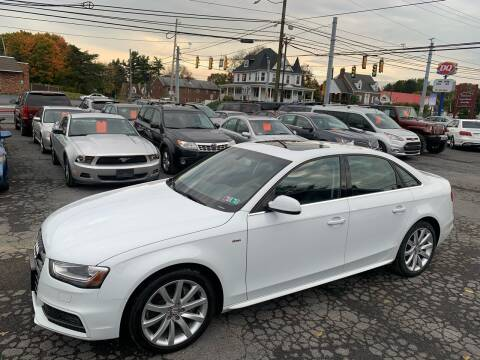 2014 Audi A4 for sale at Masic Motors, Inc. in Harrisburg PA