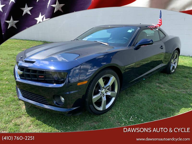 2012 Chevrolet Camaro for sale at Dawsons Auto & Cycle in Glen Burnie MD