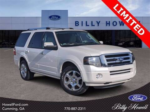 2013 Ford Expedition for sale at BILLY HOWELL FORD LINCOLN in Cumming GA