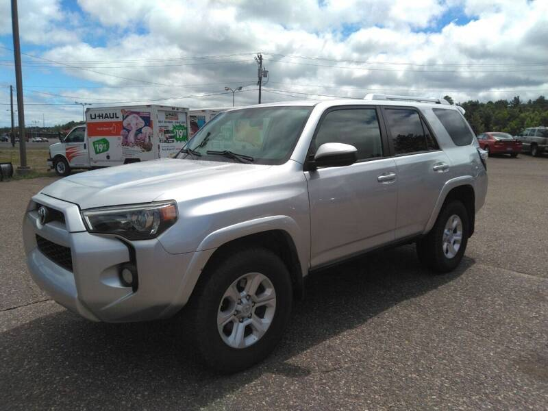 2015 Toyota 4Runner for sale at Pepp Motors in Marquette MI