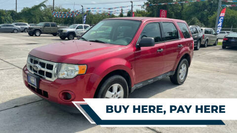 2012 Ford Escape for sale at H3 MOTORS in Dickinson TX