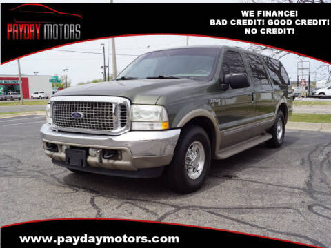 2002 Ford Excursion for sale at Payday Motors in Wichita And Topeka KS