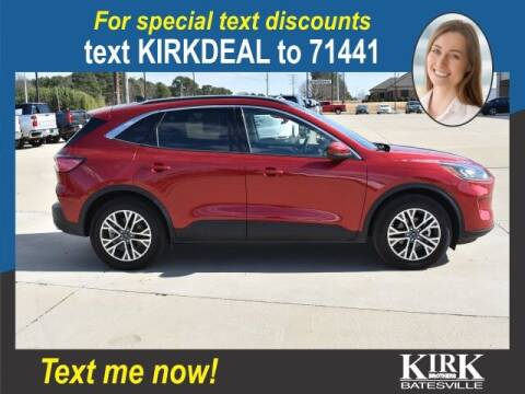 2020 Ford Escape for sale at Kirk Brothers Batesville in Batesville MS