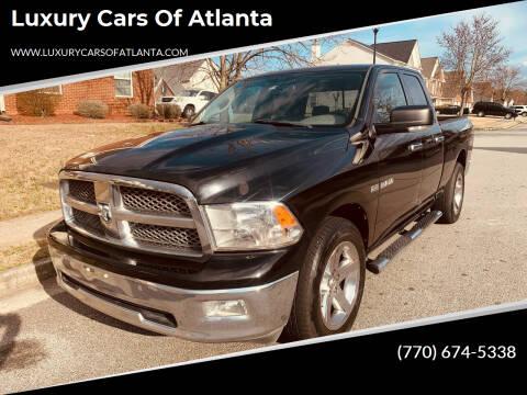 2010 Dodge Ram Pickup 1500 for sale at Luxury Cars of Atlanta in Snellville GA