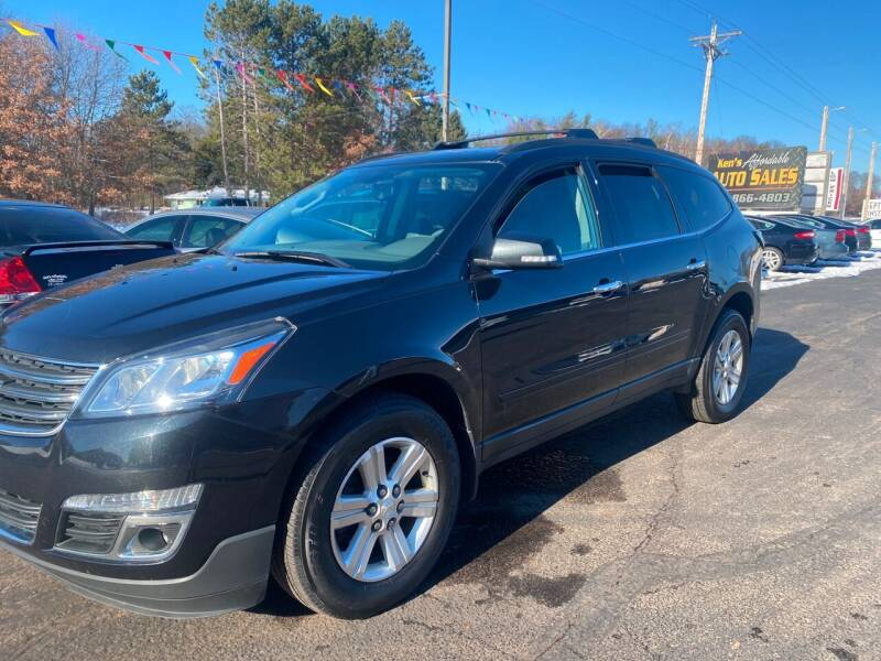 2013 Chevrolet Traverse for sale at Affordable Auto Sales in Webster WI