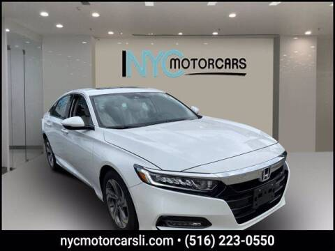 2019 Honda Accord for sale at NYC Motorcars in Freeport NY