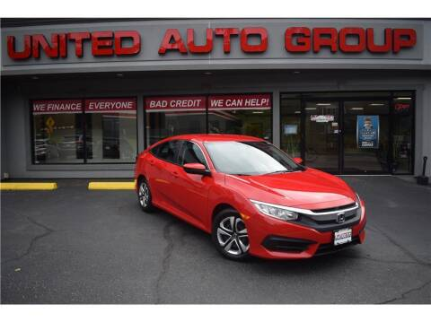 2016 Honda Civic for sale at United Auto Group in Putnam CT