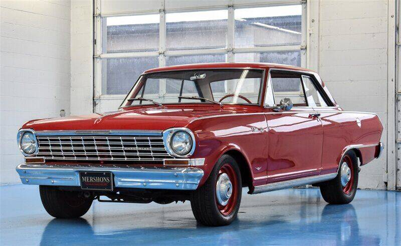 1964 Chevrolet Nova for sale at Mershon's World Of Cars Inc in Springfield OH